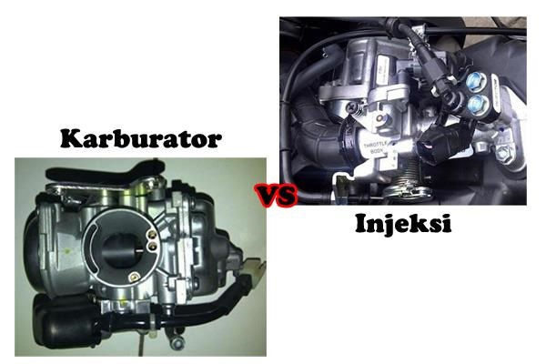 System-injeksi vs karbulator